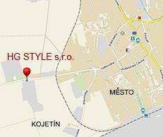 Mapa HG Style s.r.o.